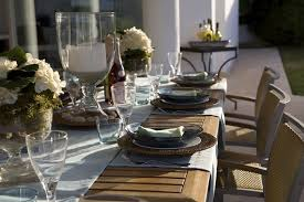 A Casual Everyday Table Setting And A Reinstated Tradition Dining - Dining room table placemats