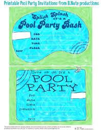 free pool party invitations cloveranddot com