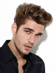 Rugged Boy Bad Boy Hairstyles Man Sporting A Rugged Hairstyle With A Modern