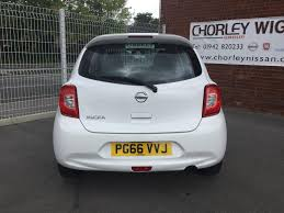 nissan micra boot switch used 2017 nissan micra 1 2 acenta 5dr for sale in lancashire