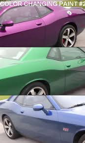 amazing video shows paramagnetic paint which changes color at the