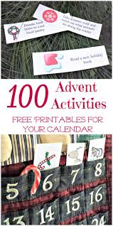 100 advent calendar activities u0026 ideas edventures with kids
