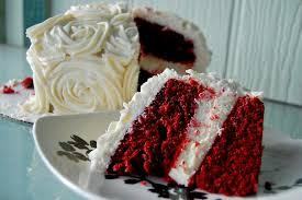 red velvet cheesecake layer cake