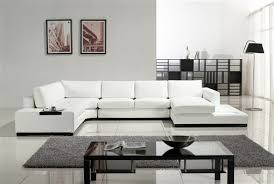 Modern White Bonded Leather Sectional Sofa White Bonded Leather Sectional Sofa Tos Lf 2029 Bn