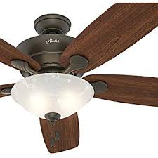 hunter groveland ceiling fan hunter groveland 60 in antique pewter indoor ceiling fan amazon com