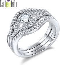 eye shaped rings images Lateefah 3 pcs engagement wedding rings set for women eye shape jpg