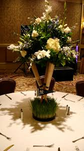 baseball centerpieces wedding centerpiece concepts hydrangea lilies roses