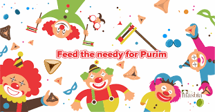 purim picture purim meal dinner package matanot laevyonim masbia soup kitchen