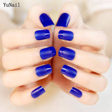 online get cheap blue nail tips aliexpress com alibaba group