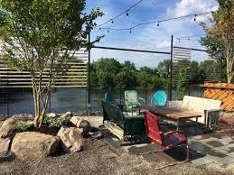Backyard Beer Garden - conshohocken brewing company opening up bridgeport beer garden