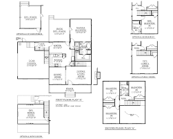 1 5 Car Garage Plans House Plan 1827 A Taylor A Floor Plan 1827 Square Feet 52 U0027 0