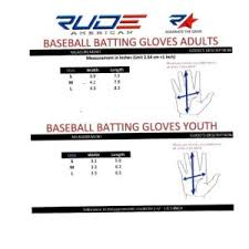 rude american rude american batting gloves destroy it sports