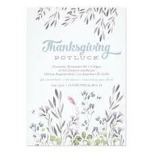 potluck invitation watercolor nature thanksgiving potluck invitation invitations 4 u