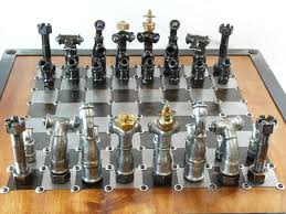 Unique Chess Pieces 9 Bizarrely Beautiful Diy Chess Sets