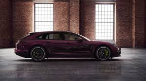 porsche panamera wagon porsche will sell you a purple panamera wagon with matching vents