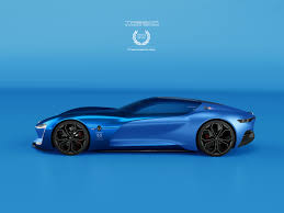 renault supercar renault trezor 6speed record livery 90th anniversary on behance