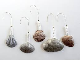 enchanting seashell christmas ornaments homemade 20 for luxury