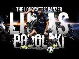 Bola Net Arsenal Photo Lukas Podolski Lukas Podolski Arsenal Lukas