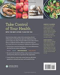 the anti inflammatory diet u0026 action plans 4 week meal plans to