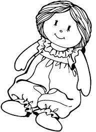 doll coloring pages printable quality coloring pages
