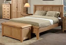 somerset oak wooden bed frame light wood wooden beds beds