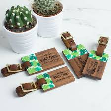 unique luggage tags 9 best personalised wood luggage tags images on