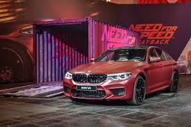 need for speed bmw 2018 bmw m5 presented at need for speed payback gamescom event