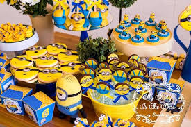 minion birthday party ideas kara s party ideas from a minions birthday party via kara s