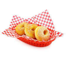 food baskets 12pcs fast food baskets with 24pcs checkered wax paper set