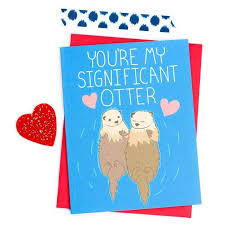 card s day card significant otter