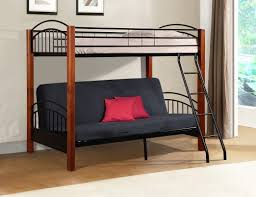 bunk bed futon couch pleasant hermina metal and wood twin beds