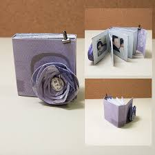 creative photo albums teeny tiny mini albums the daily digi