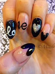70 heart nail designs acrylics nail nail and the shape