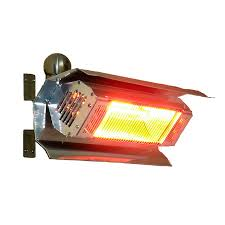 Stainless Steel Patio Heater Shop Fire Sense 120 Volt Stainless Steel Electric Patio Heater At
