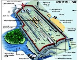 Florida Airport Map Navi Mumbai International Airport Plan U2013 Magnificent Maharashtra