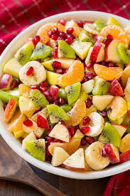 winter fruit salad with lemon poppy seed dressing cooking