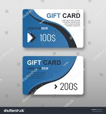 Dimensions For Business Card Set Gift Discount Cards Layout Templates Stock Vector 583652905