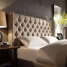 beige king beds u0026 headboards bedroom furniture the home depot