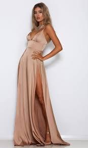 blush maxi dress show and tell blush pink spaghetti plunge v neck empire