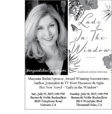 Barnes And Noble Ventura Blvd Lady In The Window U201d Author Maryann Ridini Spencer To Speak At
