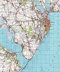 Volga River Map Geography