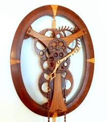 7 Free Wooden Gear Clock Plans by Free Wooden Gear Clock Plans Download Woodworking Projects