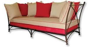 banc canap fabricant canapé en fer forgé siège banc banquette magasin
