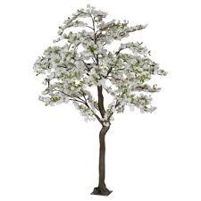 white faux apple blossom tree 7 ft kirklands