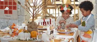 Pottery Barn Kits Thanksgiving Party Pottery Barn Kids