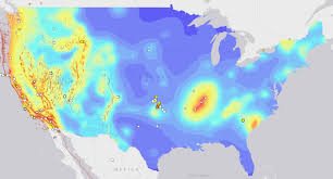 Earthquake Map Usgs What U0027s Causing The Huge Spike In Earthquakes In Oklahoma The Nation