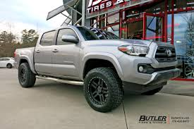 toyota tacoma rims and tires toyota tacoma with 18in black rhino mojave wheels exclusively from