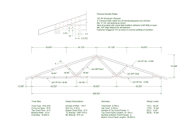 trusses with plywood gusset plates wood design and engineering