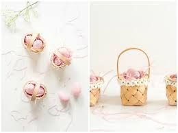 Easter Gift Ideas by Easter Surprise Cookies Mini Flower Baskets Pink Wings