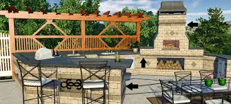 Outdoor Kitchen Design Software You Won U0027t Believe These 3 Wall And Fence Stage Tricks